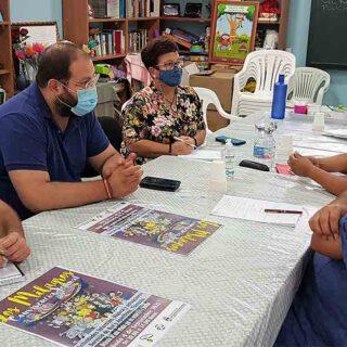 Participación Ciudadana y la AA VV Los Milagros ultiman los preparativos de una convivencia vecinal en el barrio