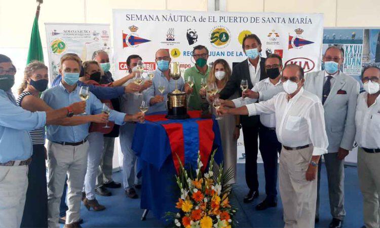 La Semana Náutica de El Puerto cumple medio siglo bajo la presidencia de honor de SM El Rey Felipe VI