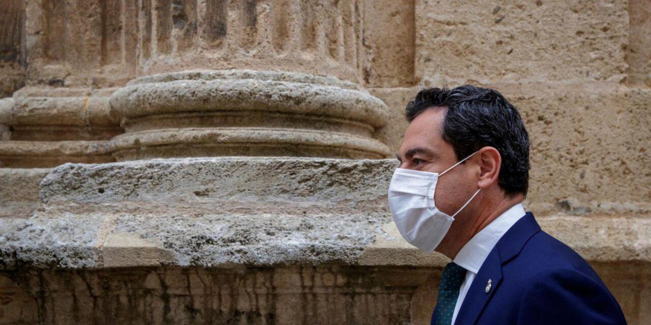 Juanma Moreno asegura que Andalucía está en fase de arrinconar la pandemia