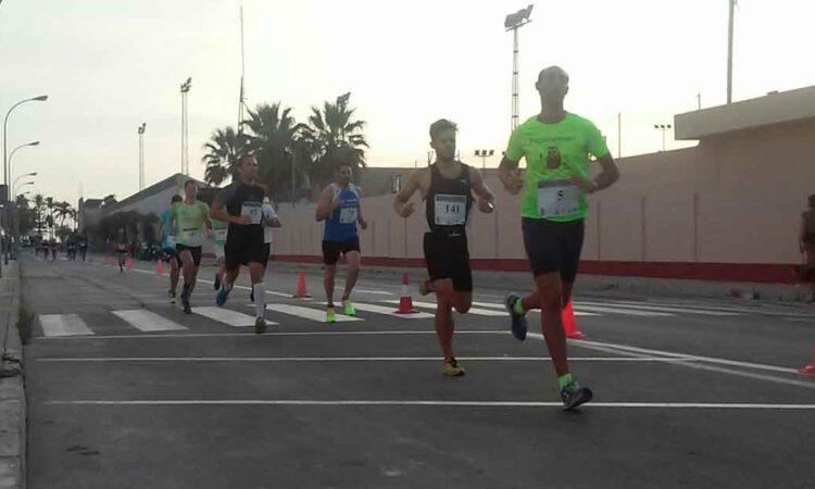 Cerca de 200 corredores participan este sábado en la XXII Milla Urbana Ciudad El Puerto