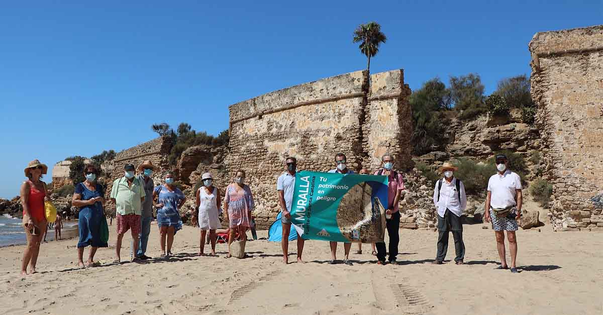 "Betilo presenta la campaña ""La Muralla, Fuerte de Santa Catalina, tu patrimonio en peligro"""