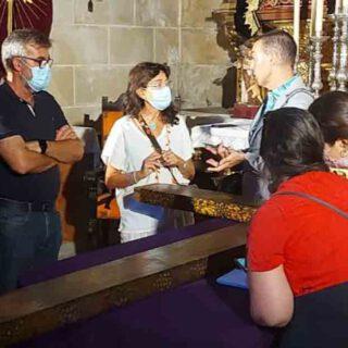 La cruz que porta el Cristo del Nazareno, a estudio por una profesora de la Universidad Rey Juan Carlos